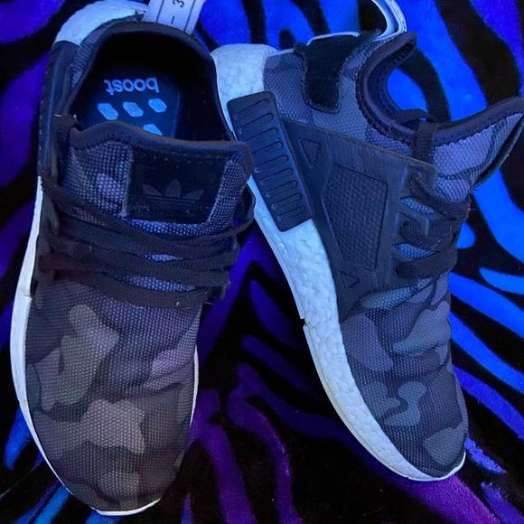 Men's adidas NMD XR1 Black Duck Camo shoes❤️